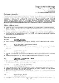 Dba Sample Resume by Stephen Groombridge Cv 1 1