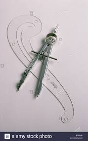 still life of compass u0026 french curve used in drawing u0026 drafting