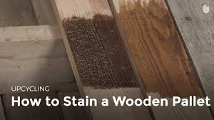 how to stain wood upcycling youtube