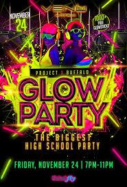 glow party project bflo hs glow party tickets venu buffalo buffalo