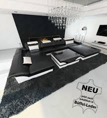 Schlafzimmer Monza Buche Luxus Sofa Echtleder Couch Xxl Wohnlandschaft Designersofa Monza