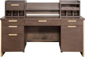 santa fe writing desk u0026 hutch art van furniture
