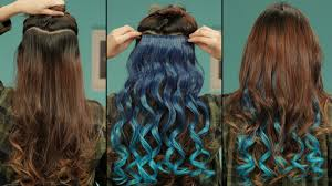teal hair extensions everything you need to about clip in hair extensions hair