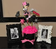minnie mouse card table amanda sarver minnie mouse 1st birthday party blog scrapbooking
