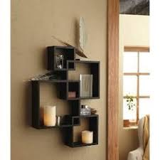 Wall Shelves Decor by Square Shelves Set Of 3 Wood Shelves By Blissnotions