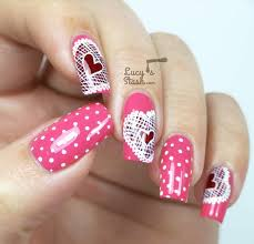 24 best valentine u0027s day nails images on pinterest heart nails