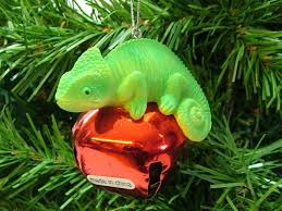 chameleon ornaments collection on ebay