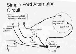 automotive wiring diagram photo of alternator voltage regulator