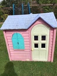 little tikes girls bed little tikes pink playhouse cottage in marton in cleveland