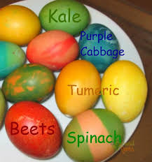 Coloring Eggs Naturally Dyed Easter Eggs