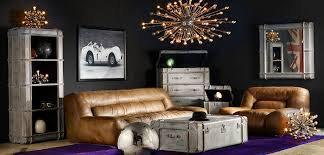 Restoration Hardware Living Rooms Eclectic Living Room With Leather Couch U0026 Hardwood Floors Zillow