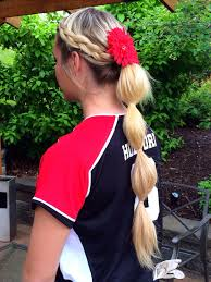 softball hair softball hairstyles softball hair ideas