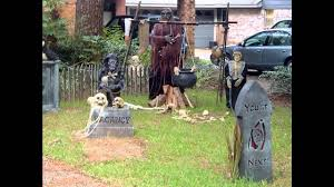 great halloween yard decorations youtube