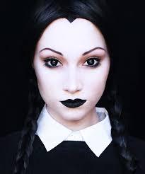 Wednesday Addams Halloween Costume Wednesday Addams Halloween Makeup Tutorial