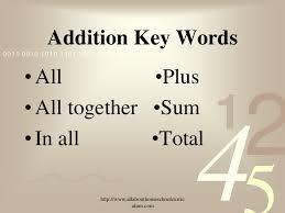 keywords in math word problems worksheet u0026 8th grade math word