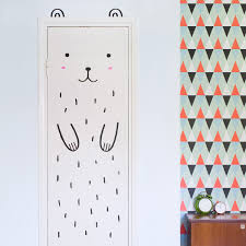 baby nursery button wall art childrens hangingbaby shower popular items for bear wall decal on etsy door haru the happy doors windows or closets