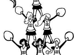 c is for cheerleader coloring pages best place to color cheer
