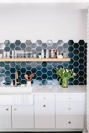 tiles ideas for kitchens 10 hexagonal tiles ideas for kitchen backsplash floor and more