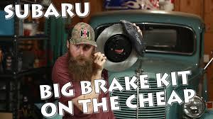 subaru cts v unboxing subaru brembo swap on the cheap pt 01 youtube