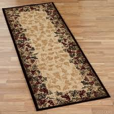 Beige Runner Rug Beaujolais Ii Grape Rug Runner