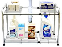 under kitchen sink storage solutions top rated under kitchen sink organizer shelf under sink storage