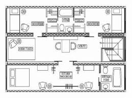 shipping container house plans with open floor plan ideas home sq