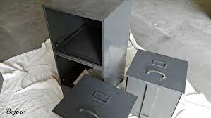 Vintage Cabinet Revamp by Filing Cabinet Revamp Stylish Revamp