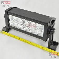 12 volt led light bar 36w 3w high intensity led car light bar