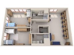 dorm room floor plans residence halls ave maria university