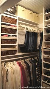 small closet 10 organization tricks for people with too many clothes master