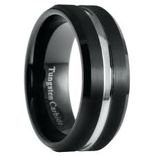 mens black wedding band mens black wedding rings blushingblonde