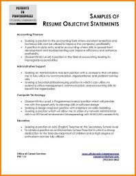 Sample Accounting Resume Objective by Resume Objective For Accounting Resume Sample For Accountant