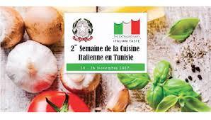cuisine italienne la semaine de la cuisine italienne de retour en tunisie du 20 au