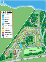 map of camden maine park map and directions megunticook cgrounds