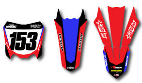 honda motocross jersey honda u0027fragment u0027 kit rival ink design co custom motocross graphics