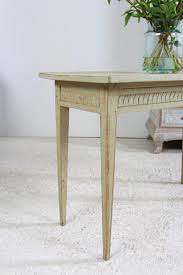 anton u0026 k antique swedish painted gustavian console table this