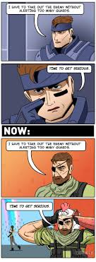 Metal Gear Solid Meme - the evolution of metal gear solid games dorkly comics