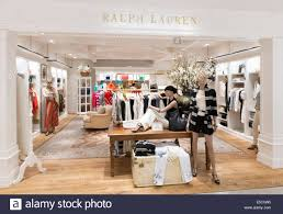 ralph lauren womens fashion clothing store in tokyo japan stock