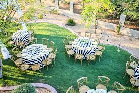 black tie backyard reception u2014 kim duncan design