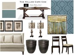Dining Living Room Combo by The Yellow Cape Cod