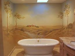 bathroom mural ideas beautiful wall murals design for your bathroom