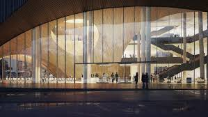 gallery of snøhetta designs new library for temple university in