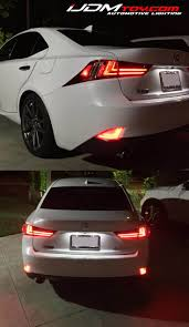 red lexus is 250 2006 lexus is250 is350 isf headlights srlss led system with sequential
