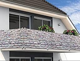 balkon sichtschutz windschutz sichtschutz balkonbespannung balkonsichtschutz 500cm x