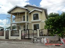 2 Storey House 115 One Storey House Design Philippines Iloilo 2 Storey House