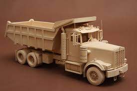 wooden kenworth truck purinok wood models the awesomer
