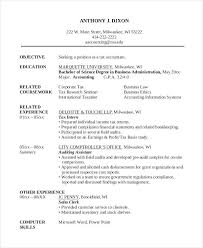 Accountant Resume Templates Sample Resume For Tax Accountant Accounting Clerk Resume Example