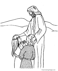 bible coloring pages jesus coloring