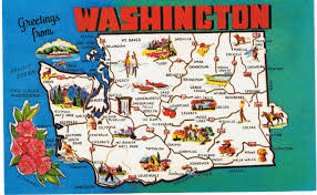 State Of Washington Map by Washington State Map Clipart 35