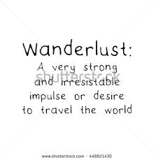 travel definition images Definition wanderlust travel adventure journey concept stock jpg